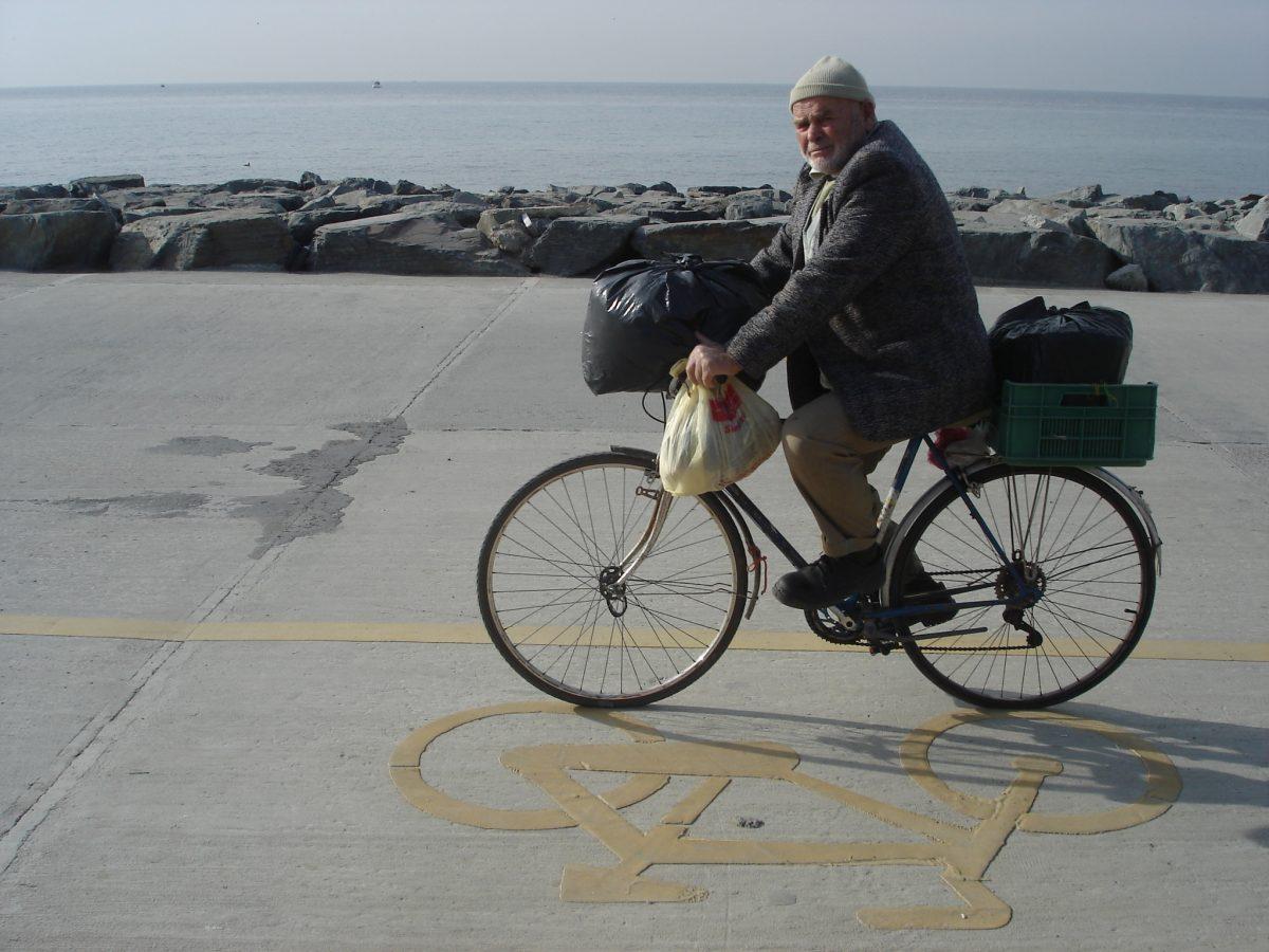 bisikletli dede