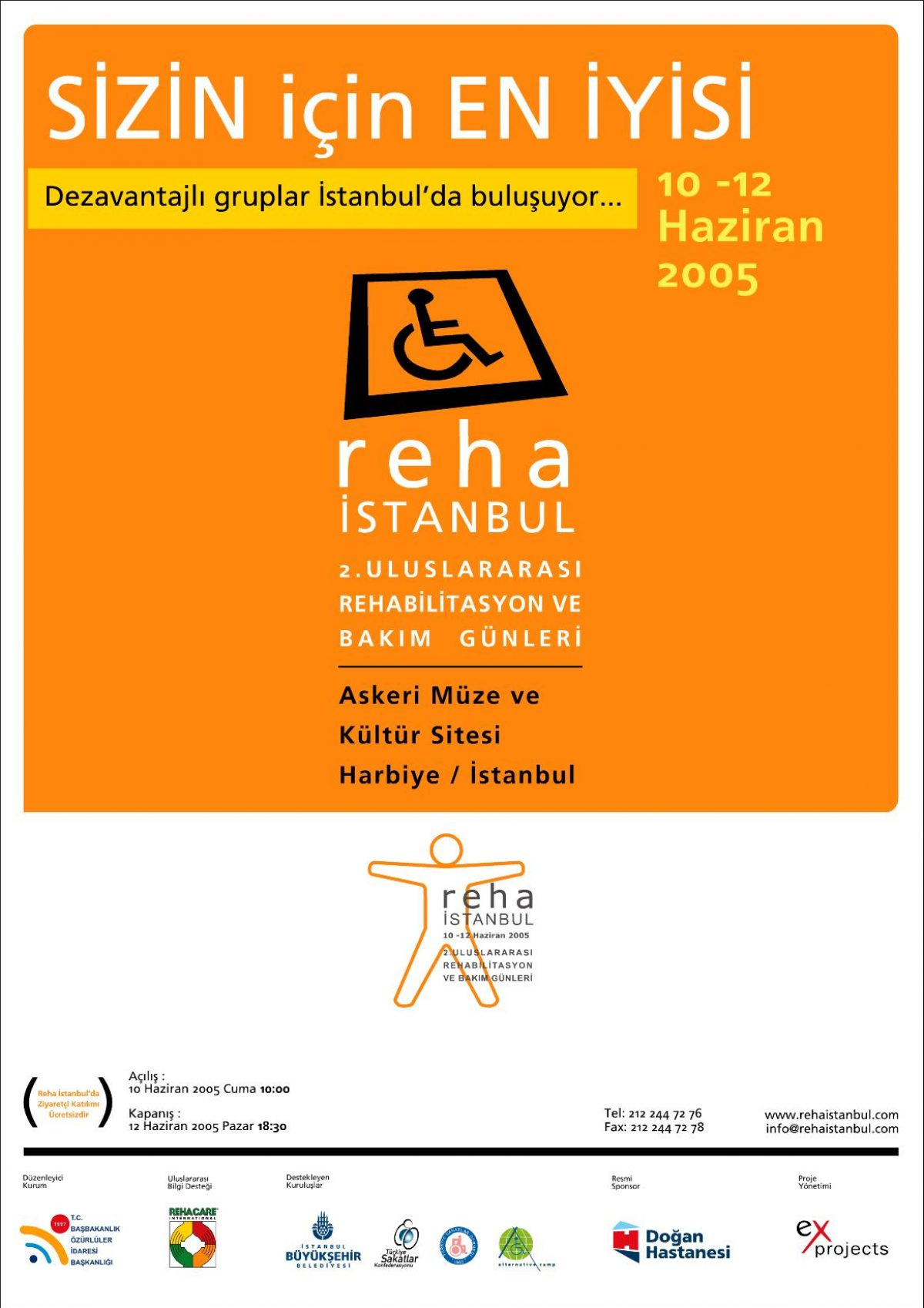 reha istanbul 2005 afis